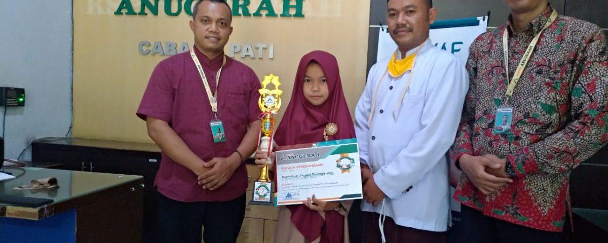 Juara I Lomba Tilawatil Qur'an Online