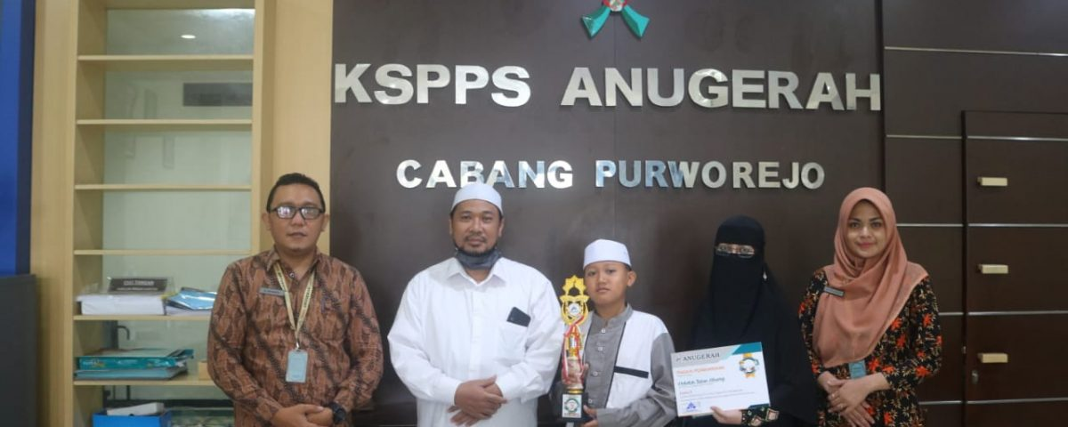 Juara III Lomba Tilawatil Qur'an Online